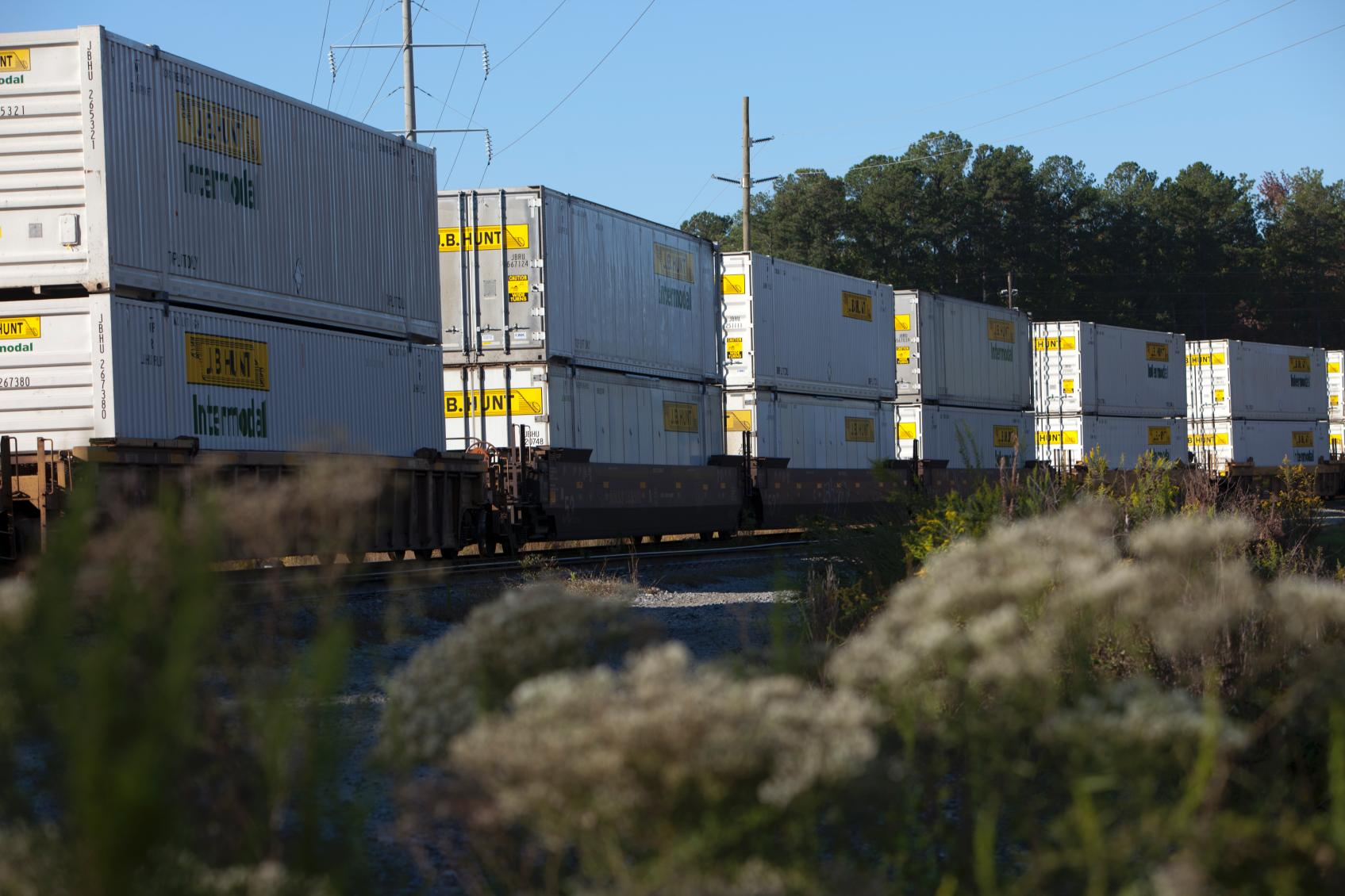 at jb hunt we like to stay ahead of the curve thats why we were one of the first to utilize railroads for intermodal transportation and continue to