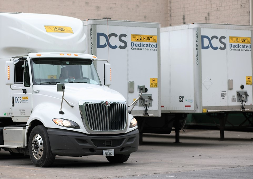 J b hunt dedicated local and regional truck driving jobs for B b contract